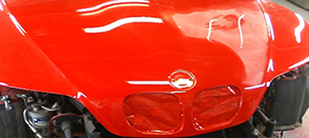 自動車塗装イメージ画像